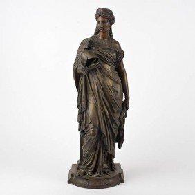 Eugene-Antoine Aizelin (1821-1902, French), Bronz