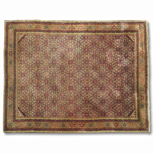 "3076: Persian carpet, approx. 10'10"" x 13'4"""