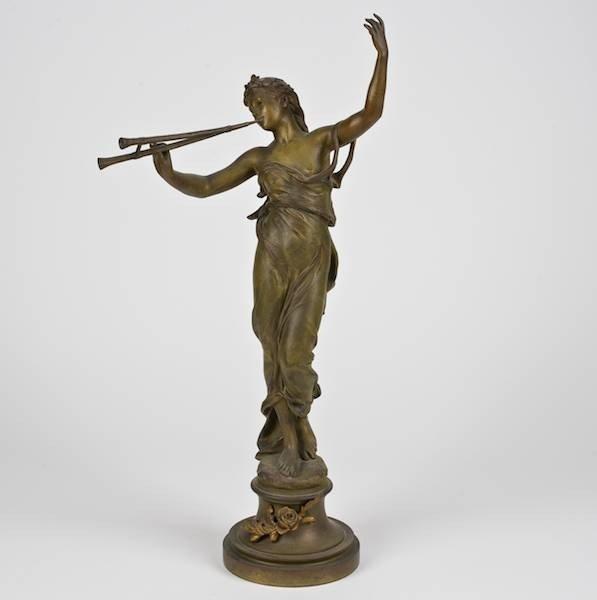 3095: Eugene Marioton (1854-1925, French), bronze