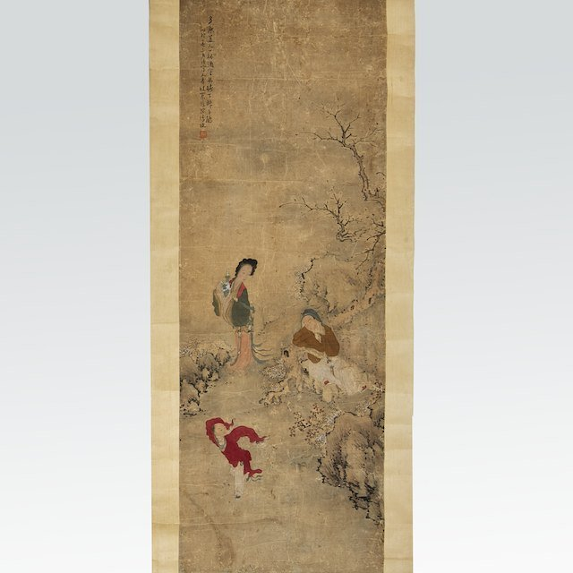 1020: Attributed to Chen Mei (18th/19th century), paint