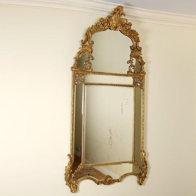 2009: Large Regence giltwood pier mirror