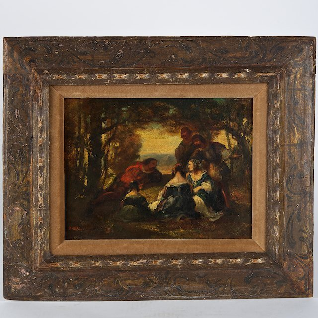 2012: Attributed to Narcisse Diaz de la Pena (1807-1876