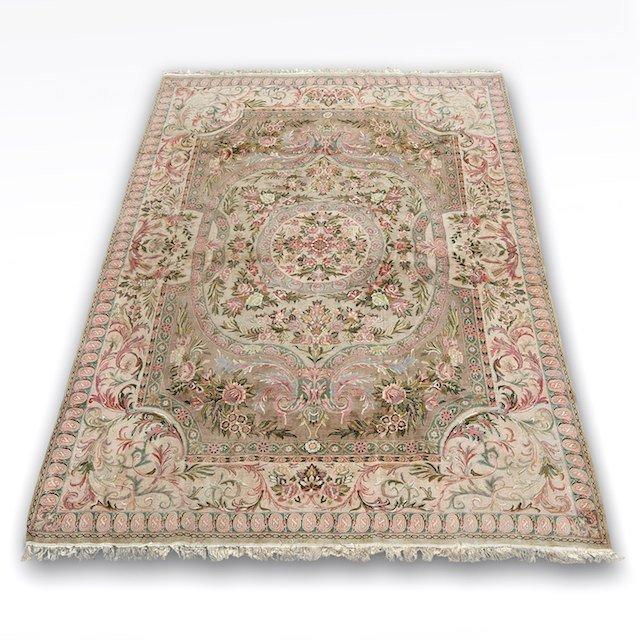 2015: Savonnerie style wool pile carpet