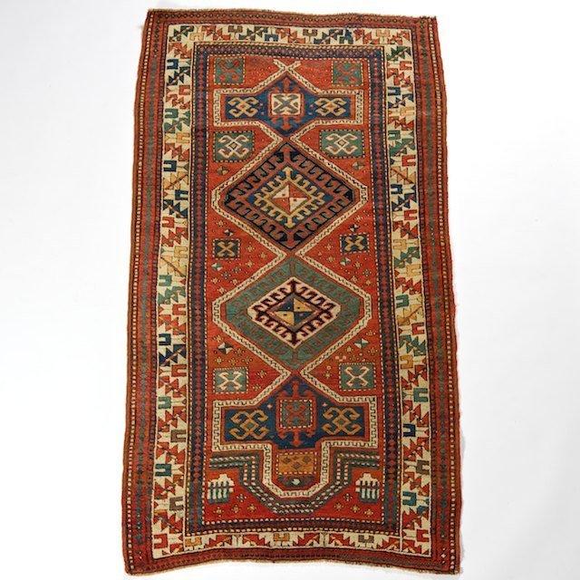 2280: Antique Caucasian carpet