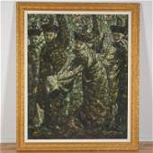 Di Li Feng (b. 1958, Chinese), large painting