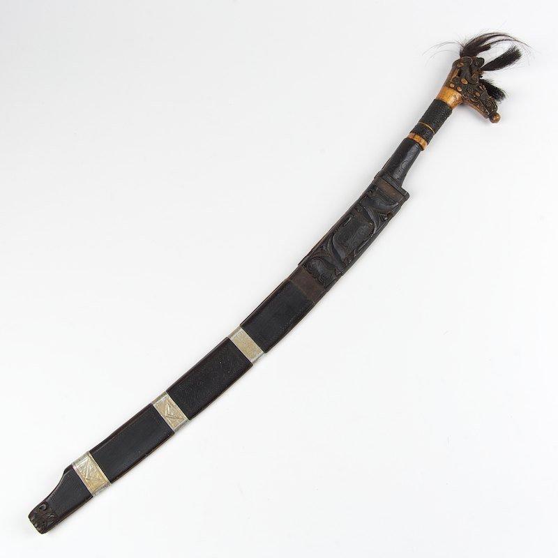 Dayak Mandau Borneo head-hunter's sword