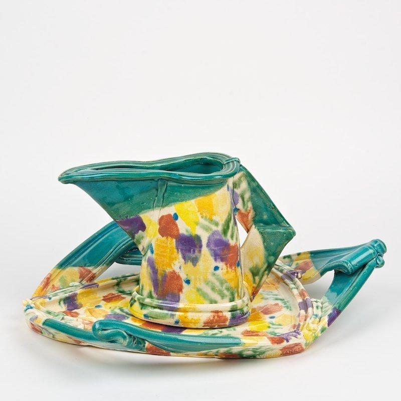 Betty Woodman (b. 1930, American), ceramics