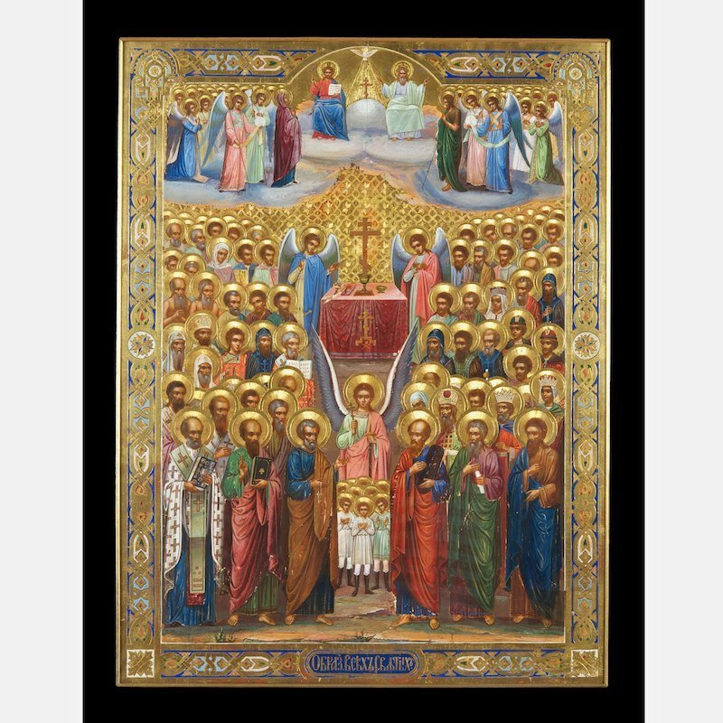 Monumental and important Russian icon
