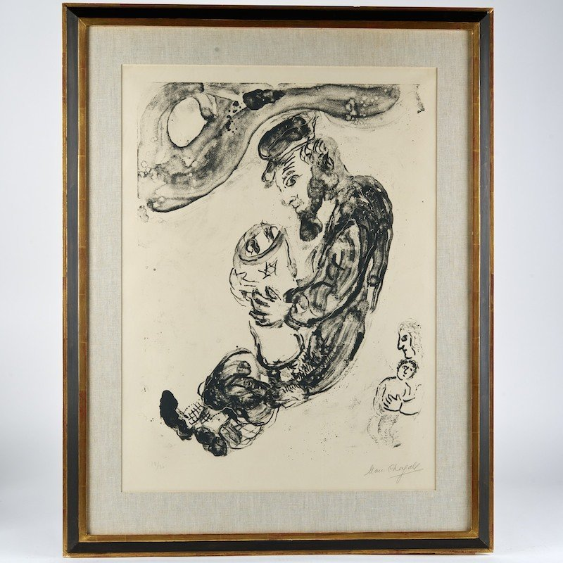 Marc Chagall (1887-1985, Russian/French), lithograph
