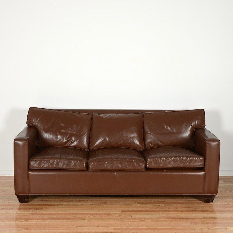 Jean Michel Frank style sofa by Avery Boardman
