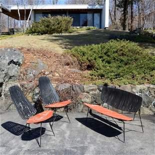 Arthur Umanoff (3) piece seat furniture suite