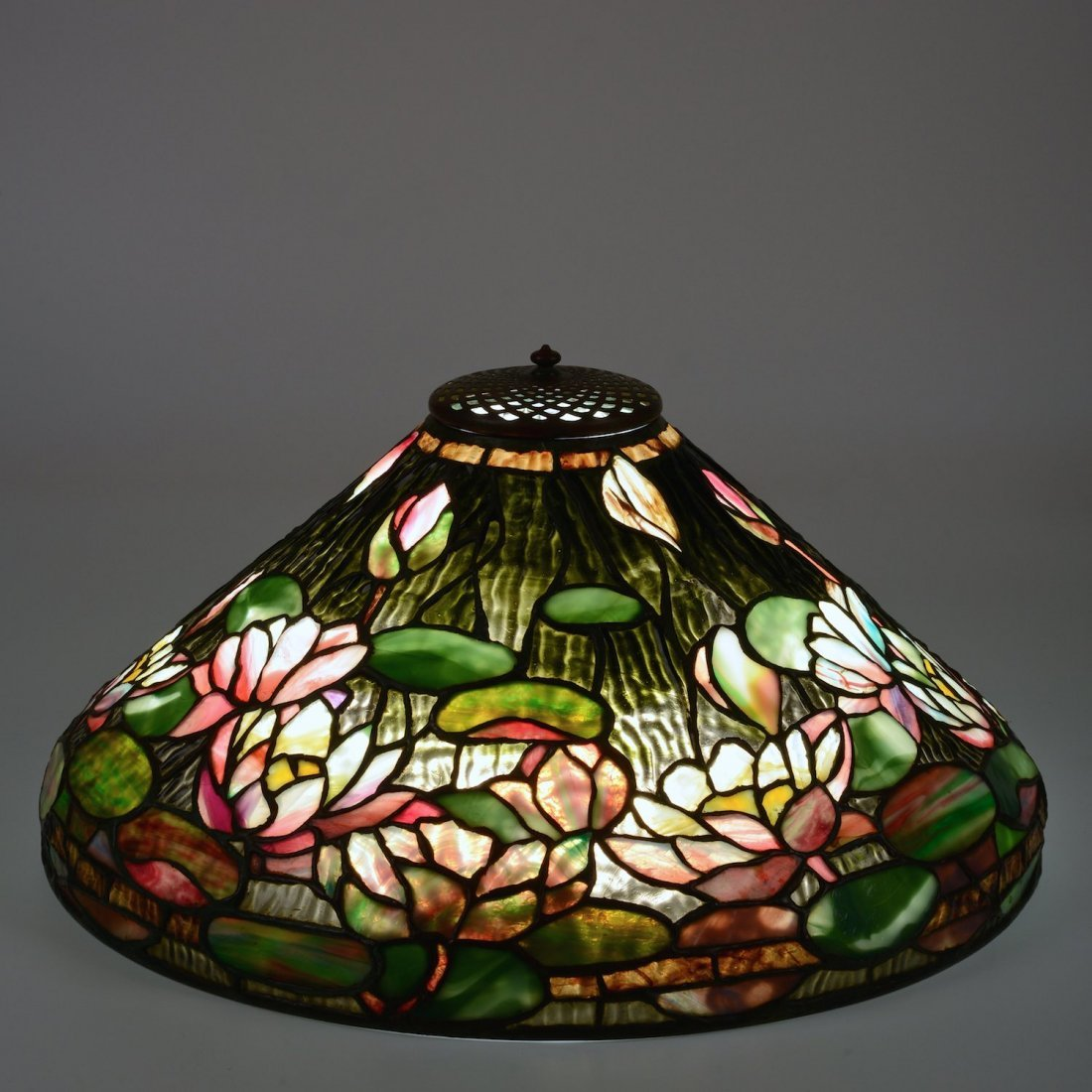 "Tiffany Studios ""Pond Lily"" table lamp - 2"