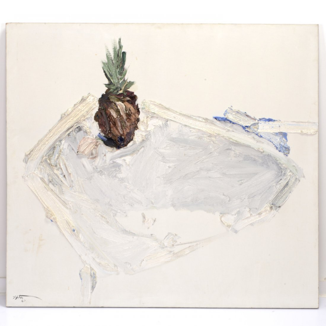 Manoucher Yektai, painting