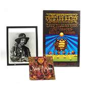 Original Jimi Hendrix poster and photograph