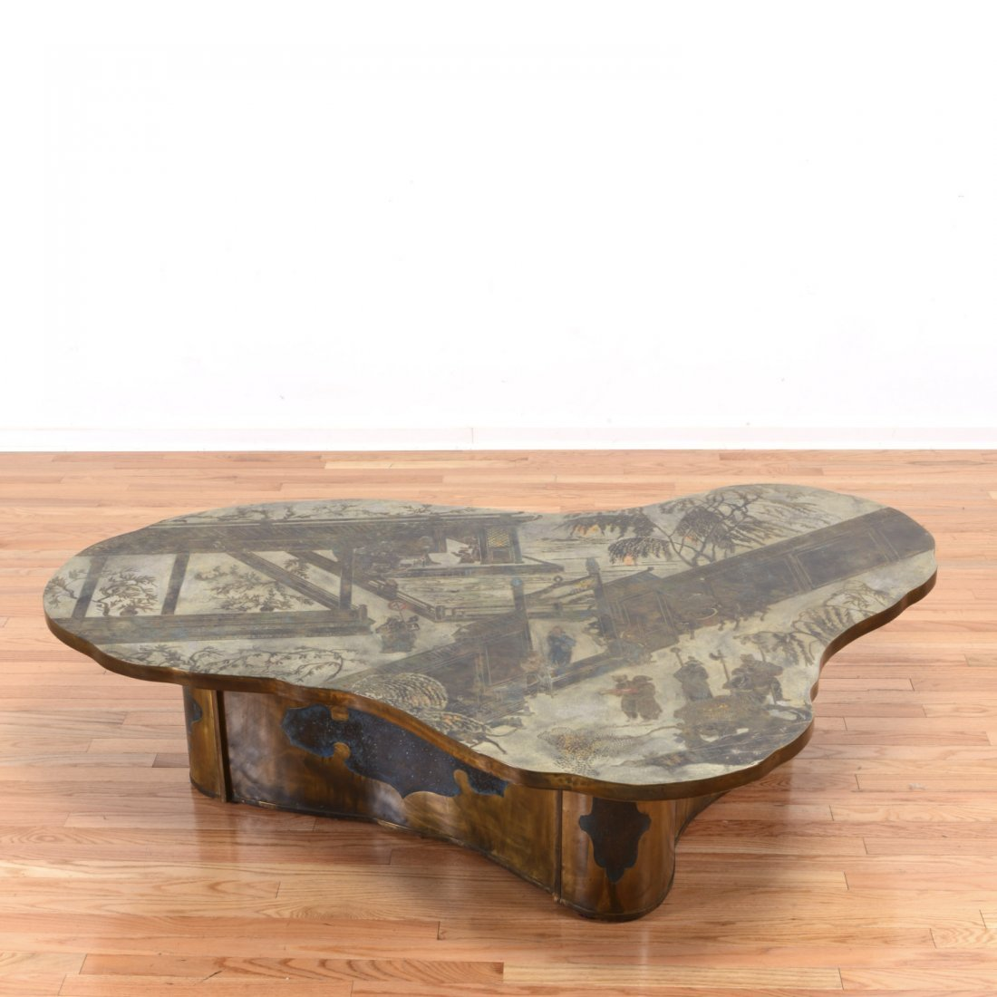 "Huge Philip & Kelvin LaVerne ""Chan"" coffee table"