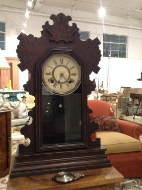 Ansonia Gingerbread Mantel Clock