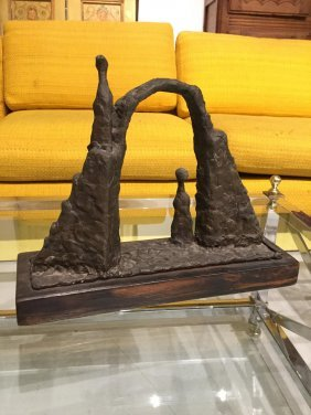Bronze Sculpture Signed D. Robbins