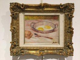 Lucien Boulier, Oil On Canvas