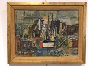 Richard Lahey, Oil On Board