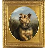 Circle of George Smith Armfield, dog painting