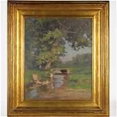 Walter Clark painting
