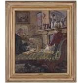 """Anna Hope """"Nan"""" Hudson, painting"""