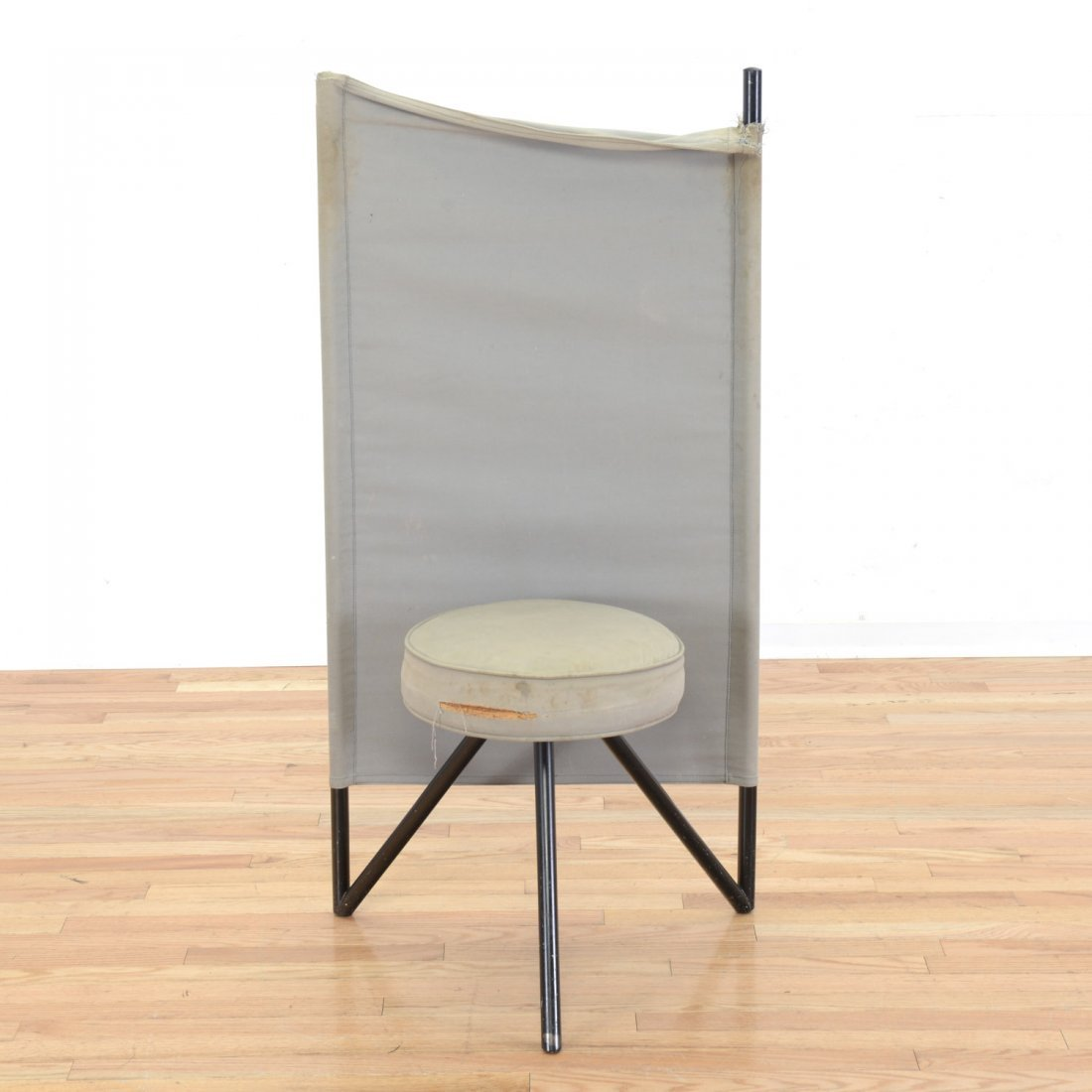"Philippe Starck ""Miss Wirt"" canvas chair"
