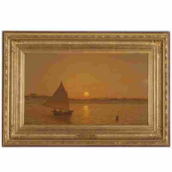 William R. Davis, painting