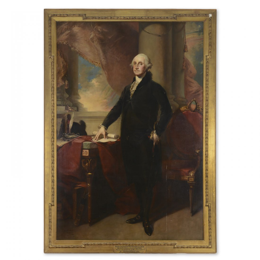 After Gilbert Stuart, monumental painting