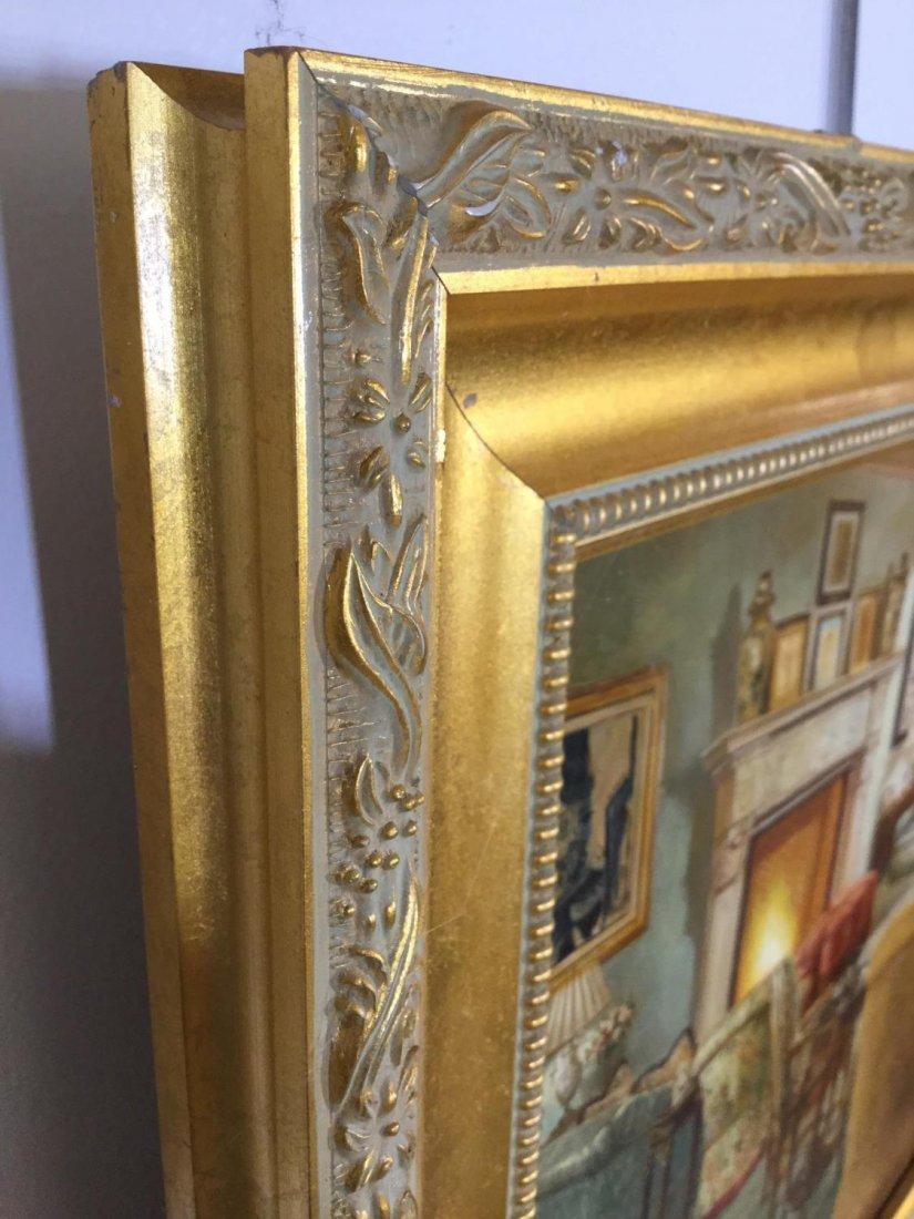 S. Lee (20th c.), interior design painting - 8