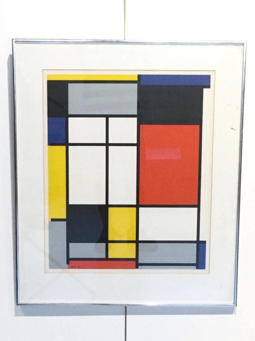 After Piet Mondrian (Dutch, 1872-1944)
