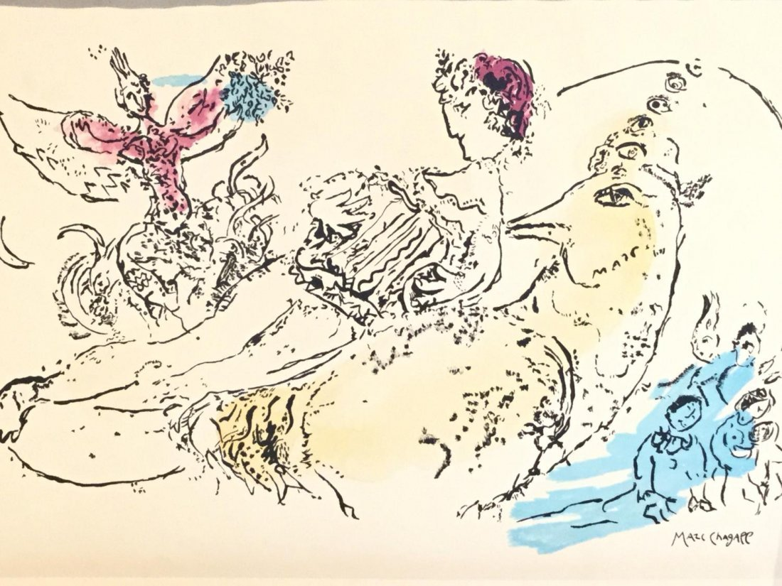 After Marc Chagall (French/Russian 1887-1985) - 2