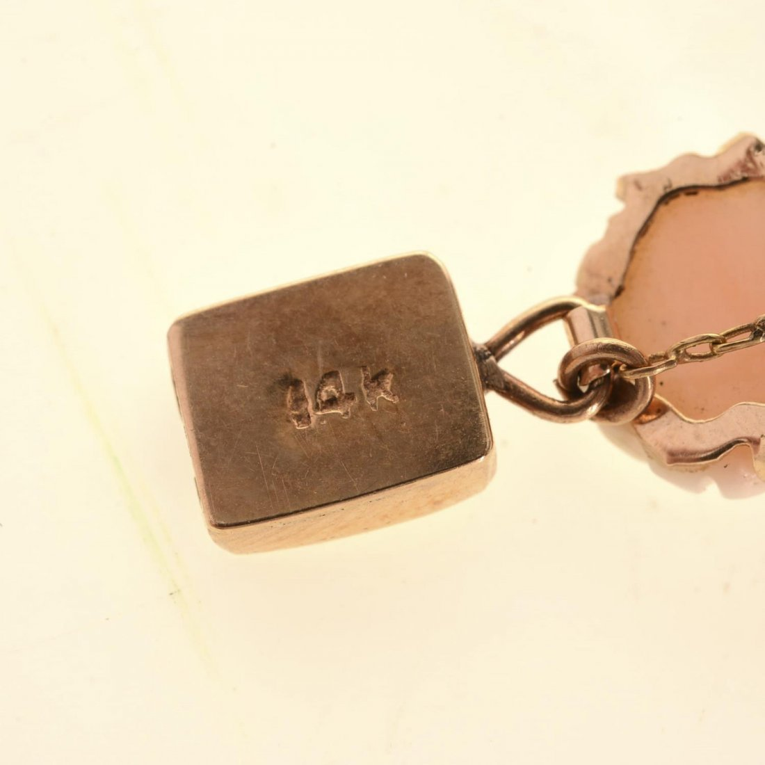 (4) pcs. Antique coral jewelry - 7