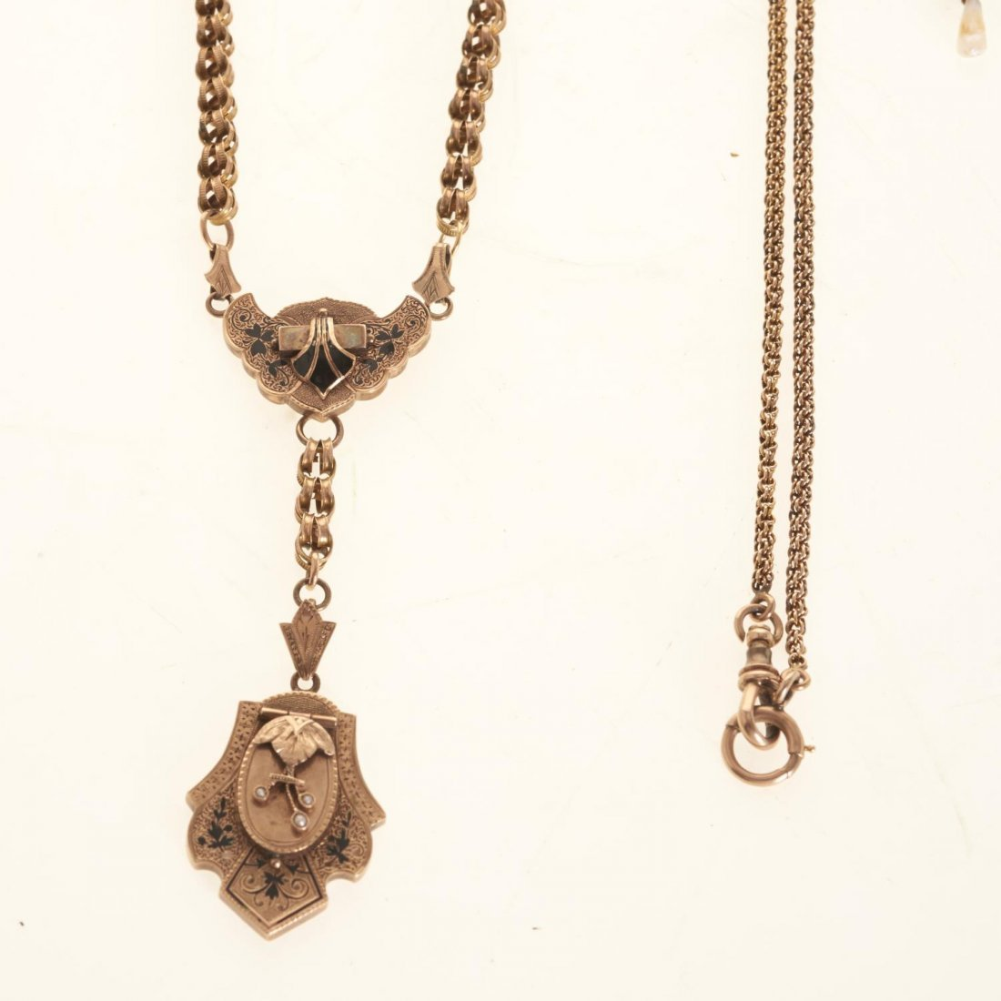 Victorian style gold jewelry - 2