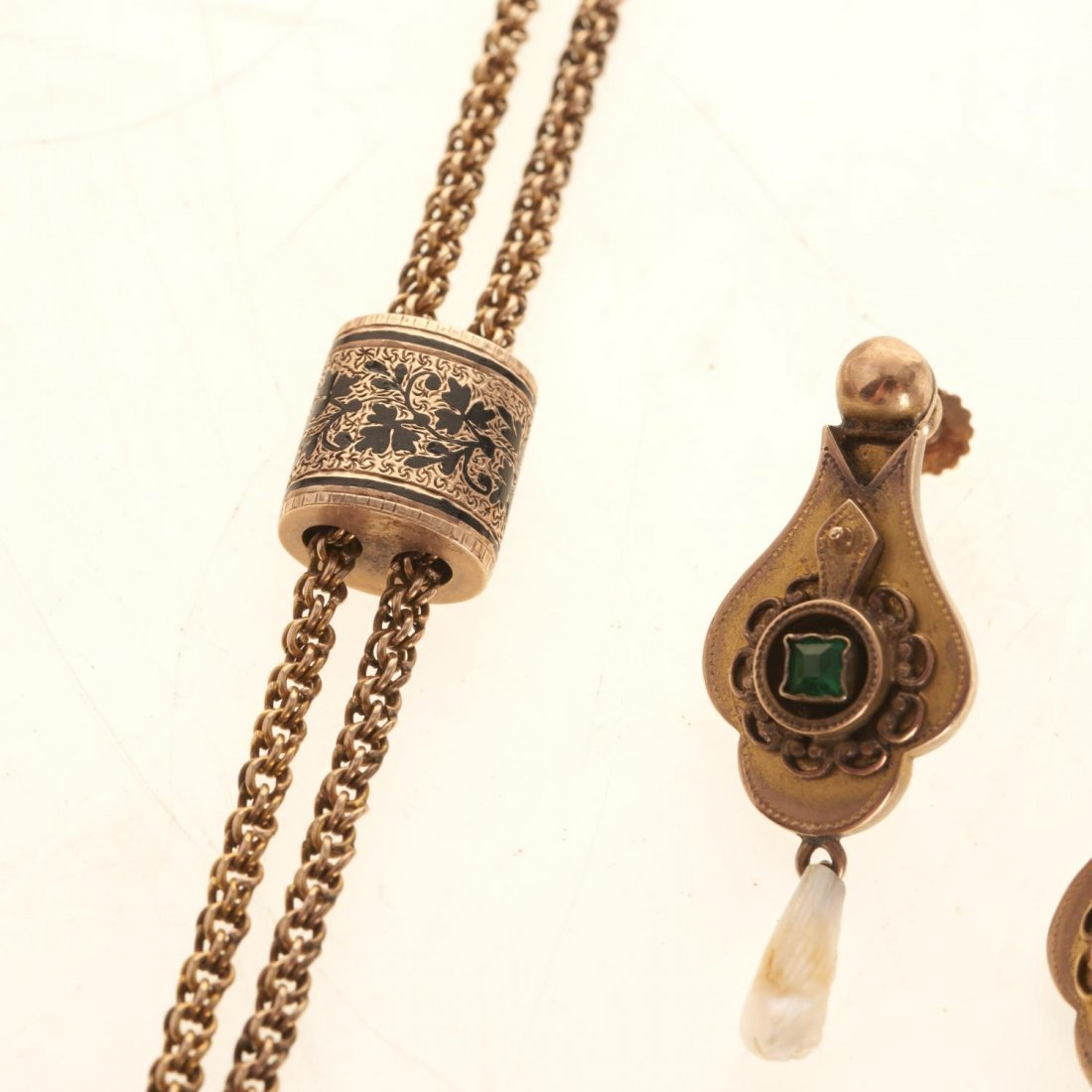 Victorian style gold jewelry - 3