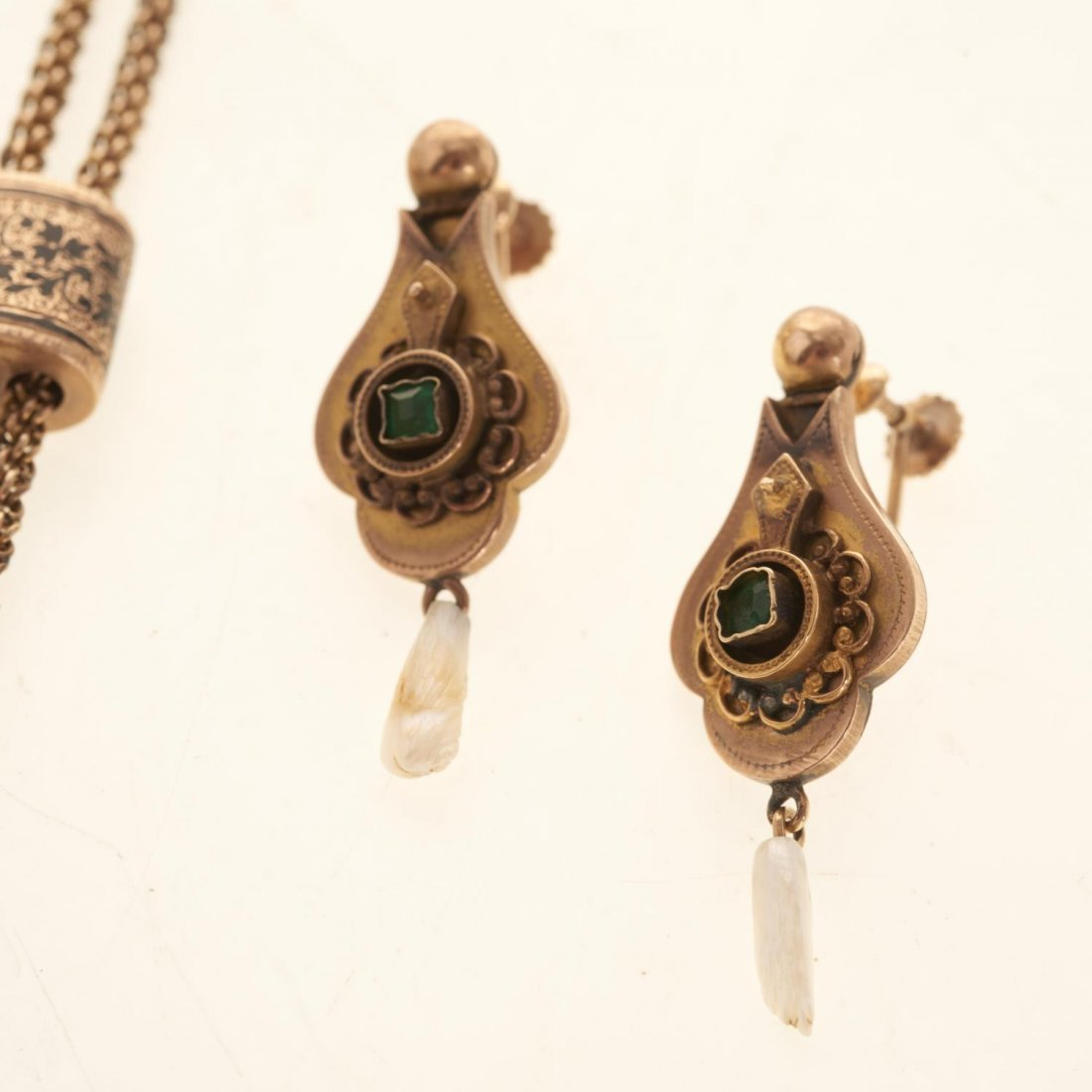 Victorian style gold jewelry - 4
