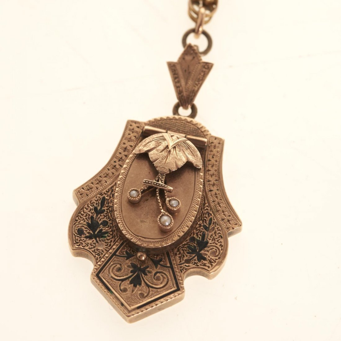 Victorian style gold jewelry - 8
