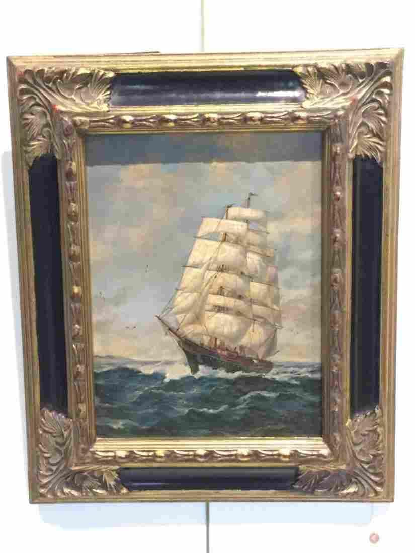 J. Clark, oil painting