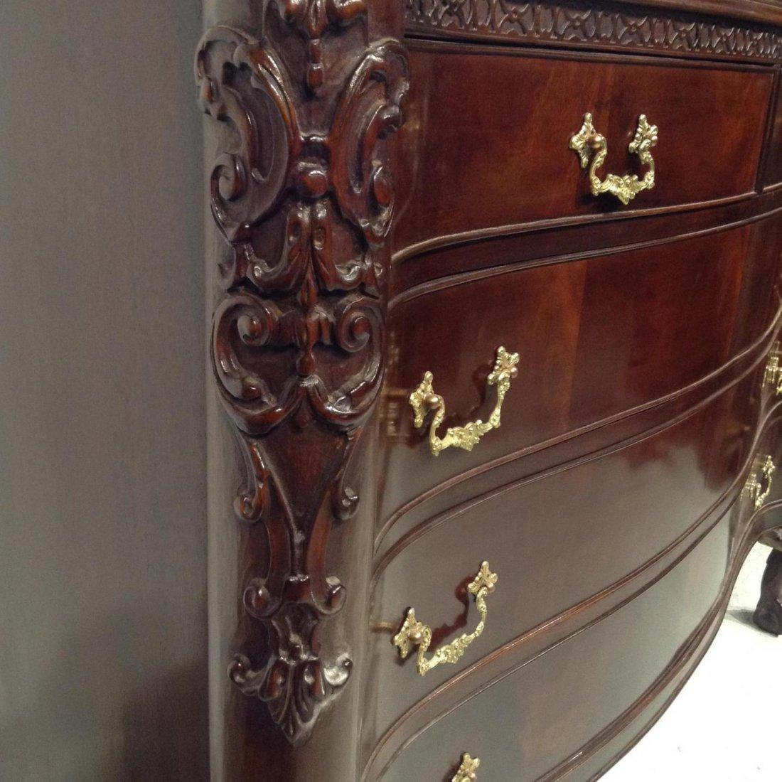 Colonial Revival (7)-piece mahogany bedroom set - 6