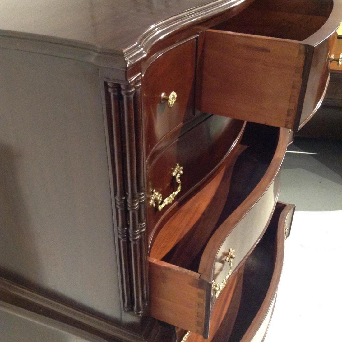Colonial Revival (7)-piece mahogany bedroom set - 7