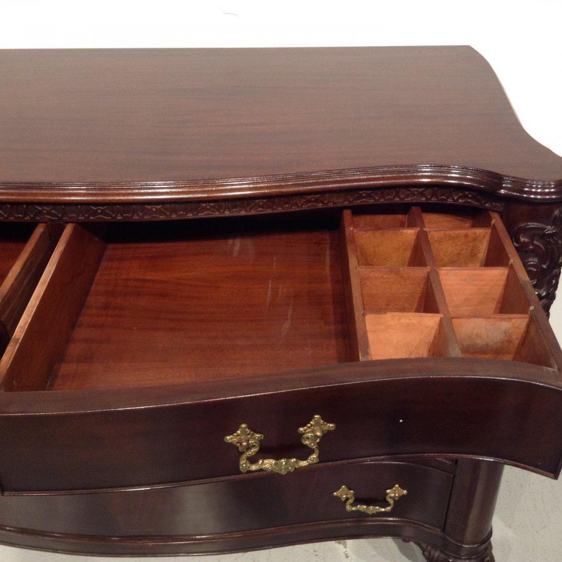 Colonial Revival (7)-piece mahogany bedroom set - 8