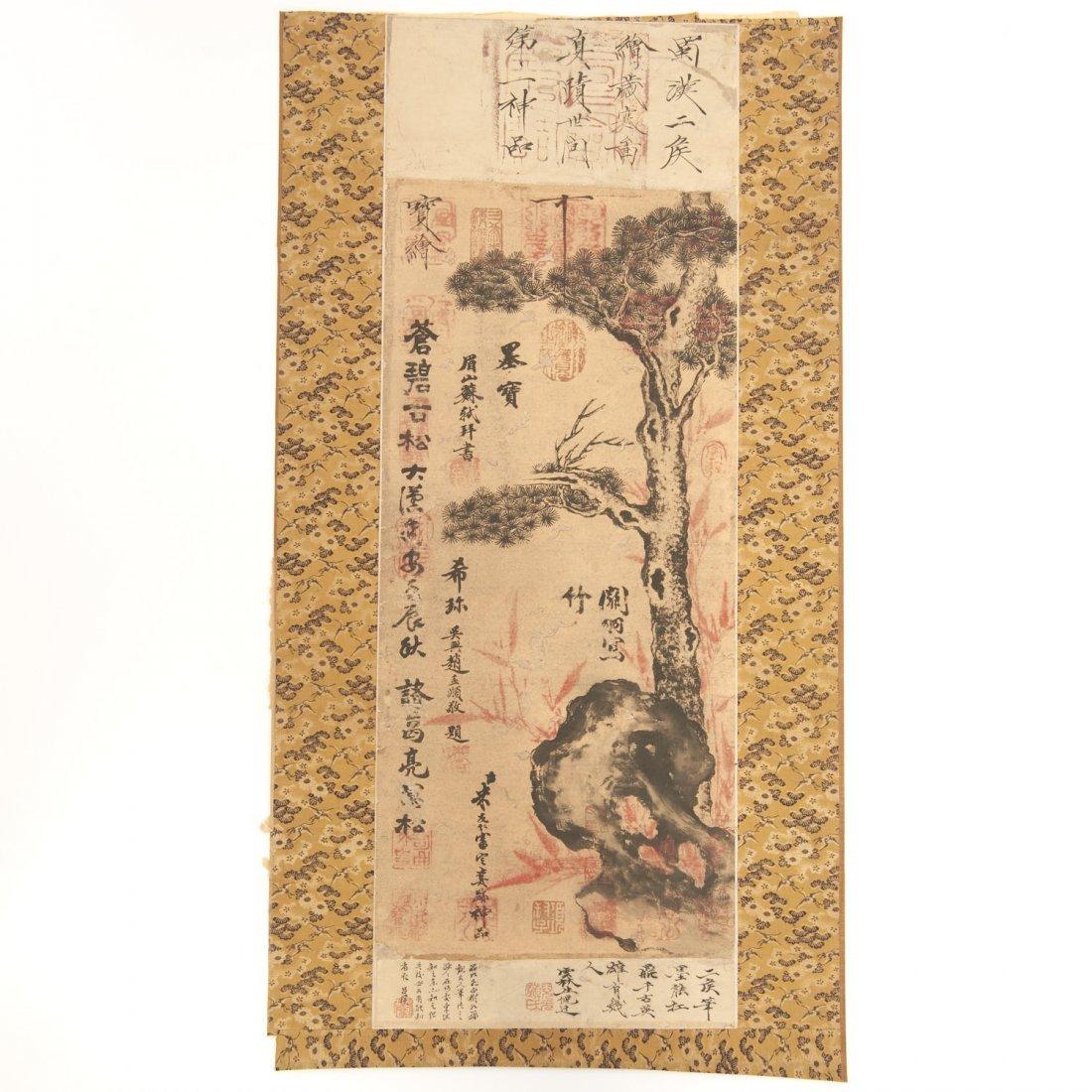Manner of Wen Zhengming, literati painting