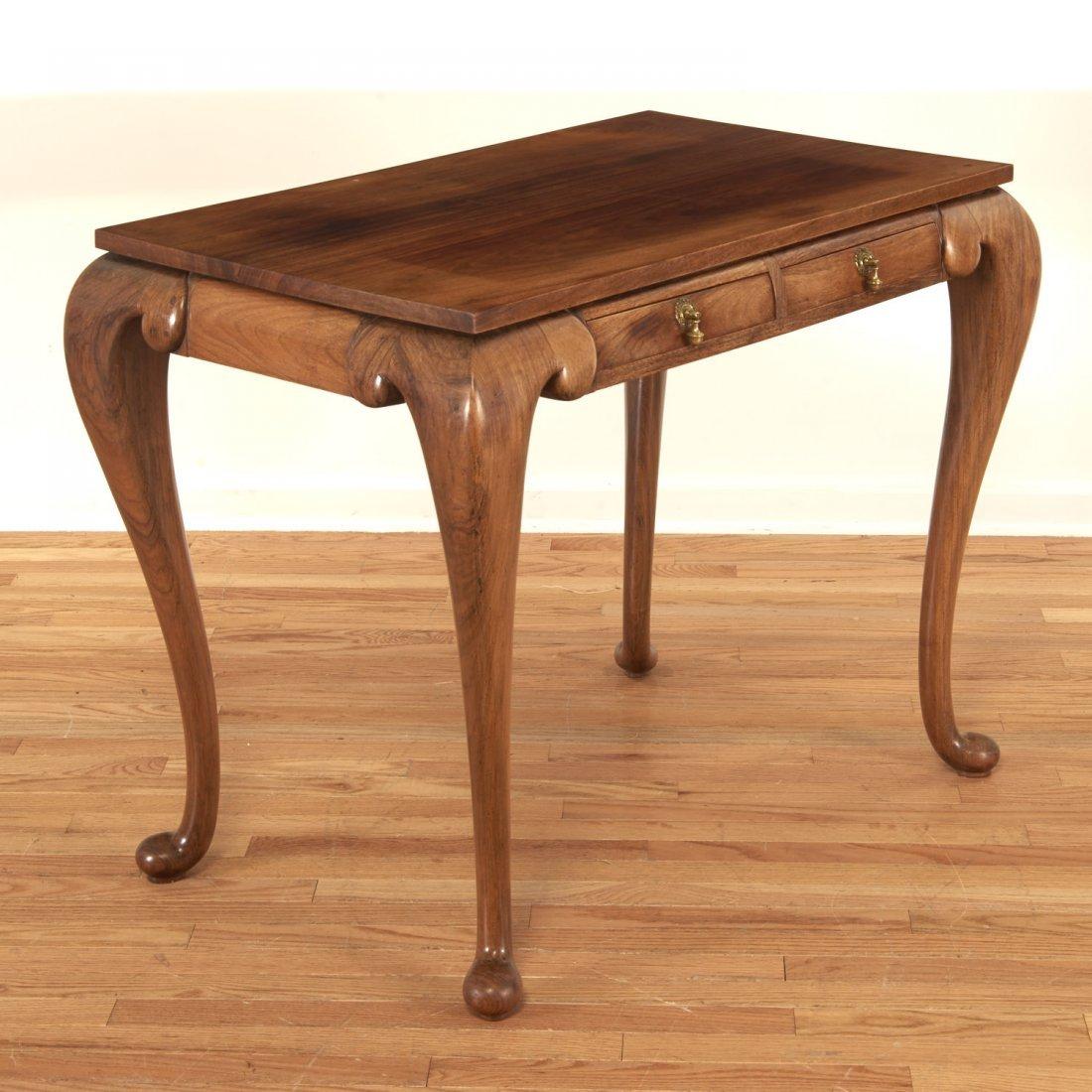 Unusual Chinese Export hardwood tea table - 2