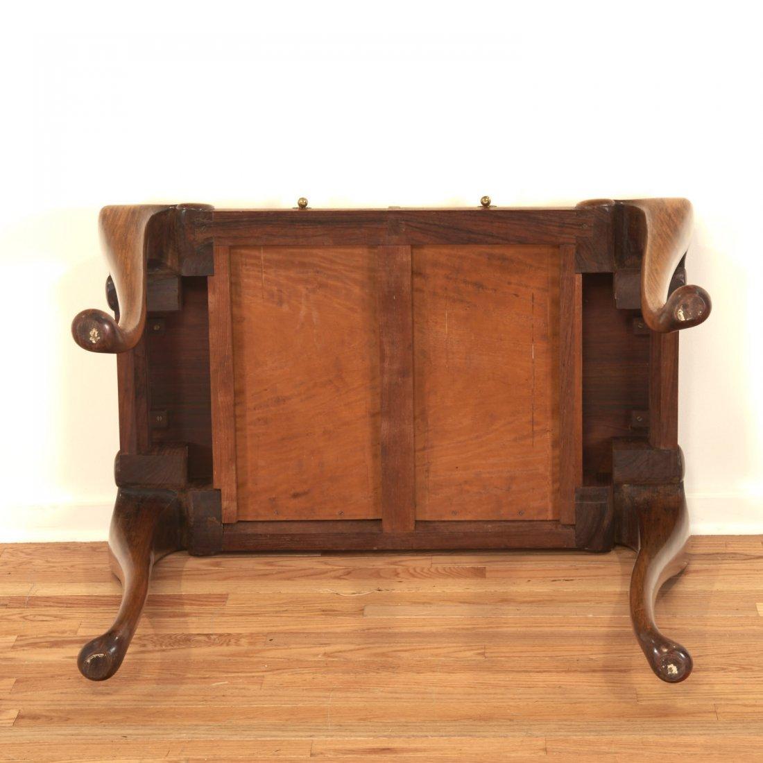 Unusual Chinese Export hardwood tea table - 7