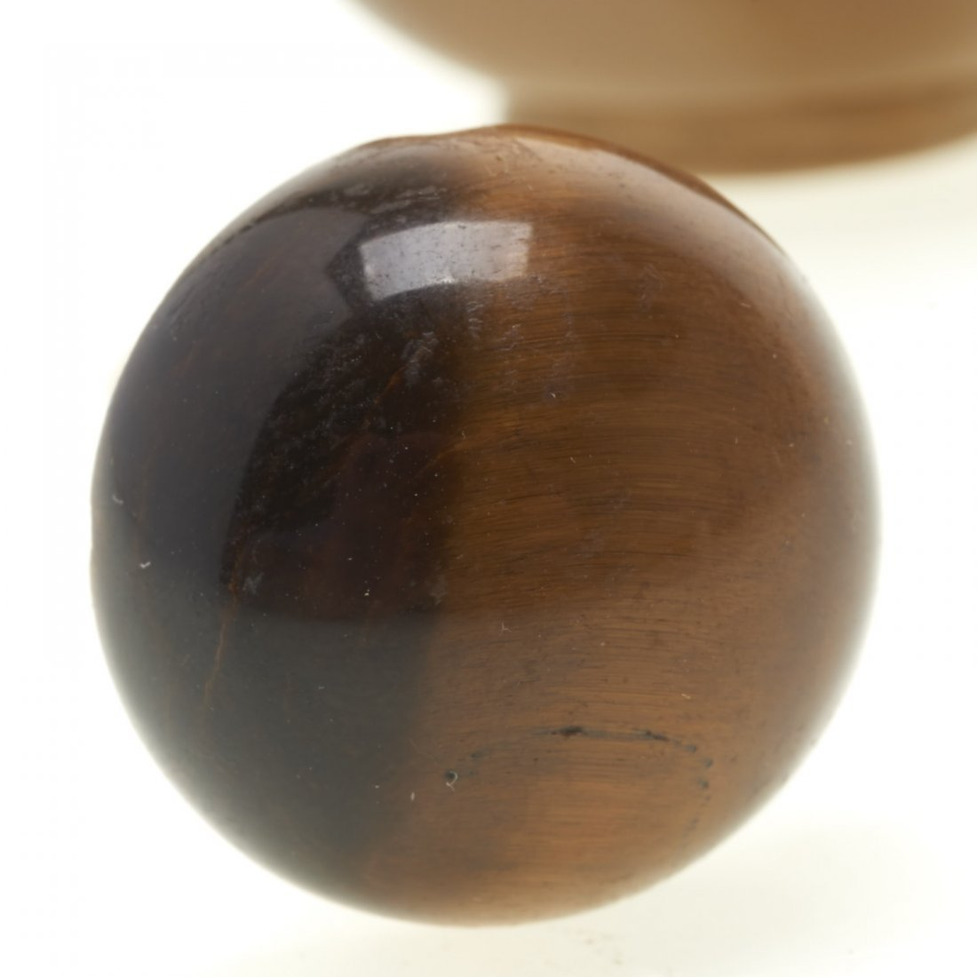 Chinese shadow agate snuff bottle - 6