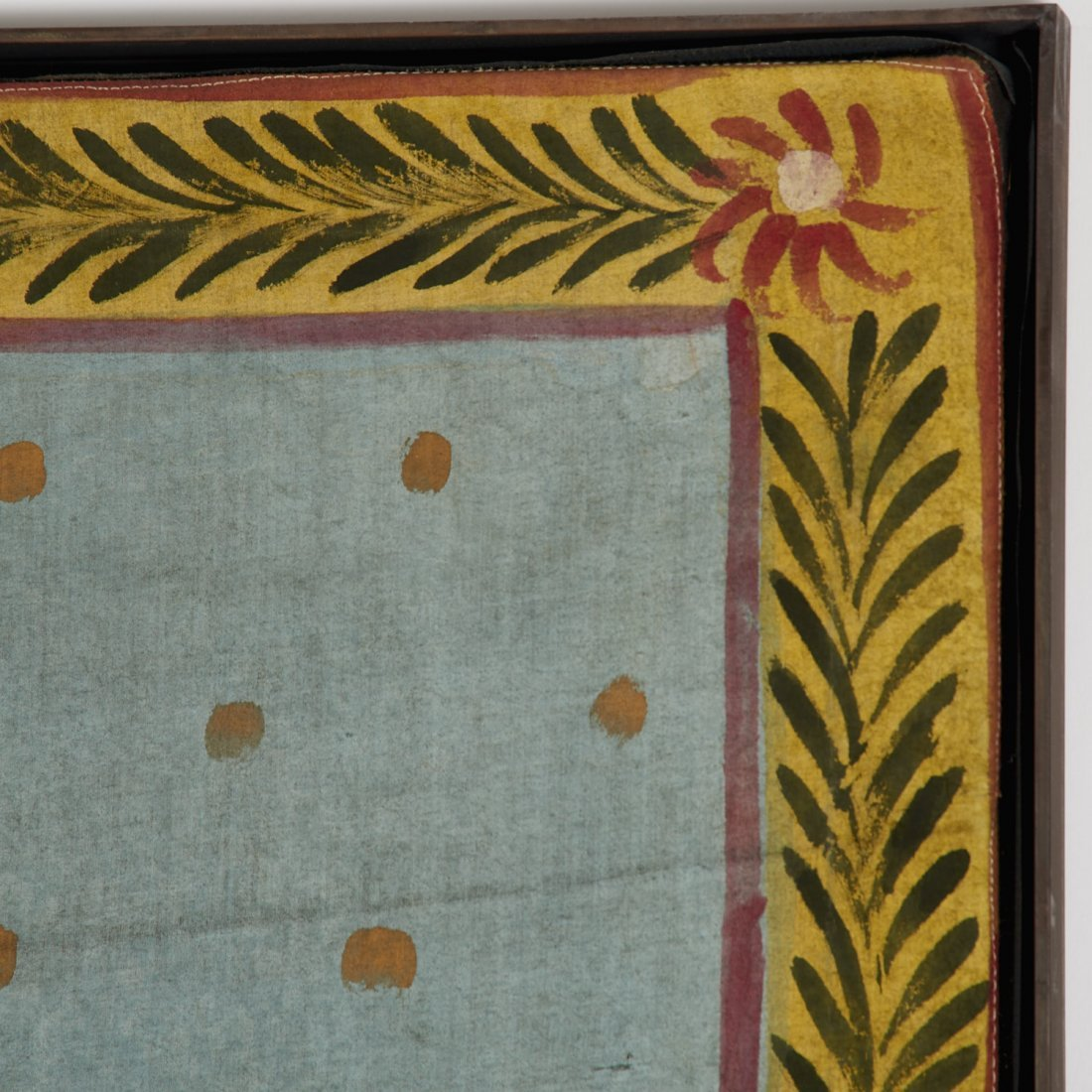 Indian School, large painting on cloth - 4
