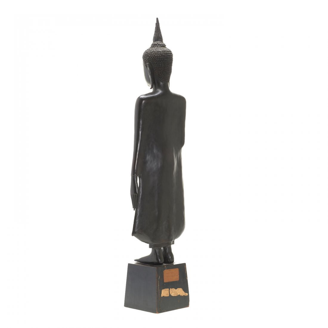 Southeast Asian bronze standing Buddha - 5