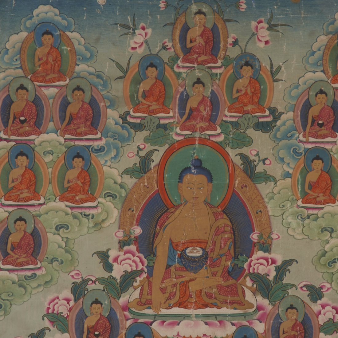 Himalayan School, Thangka painting - 2