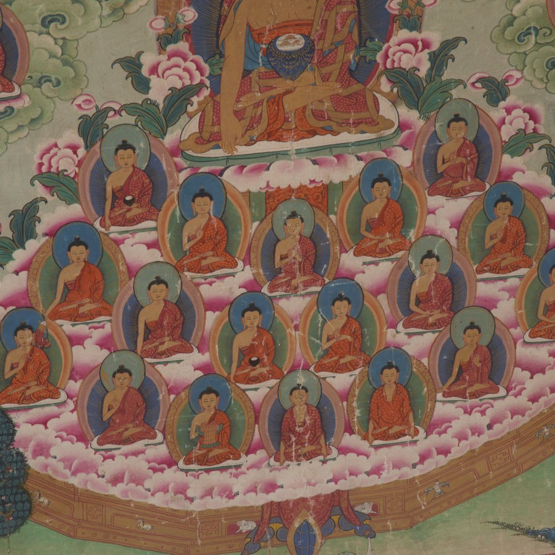 Himalayan School, Thangka painting - 3