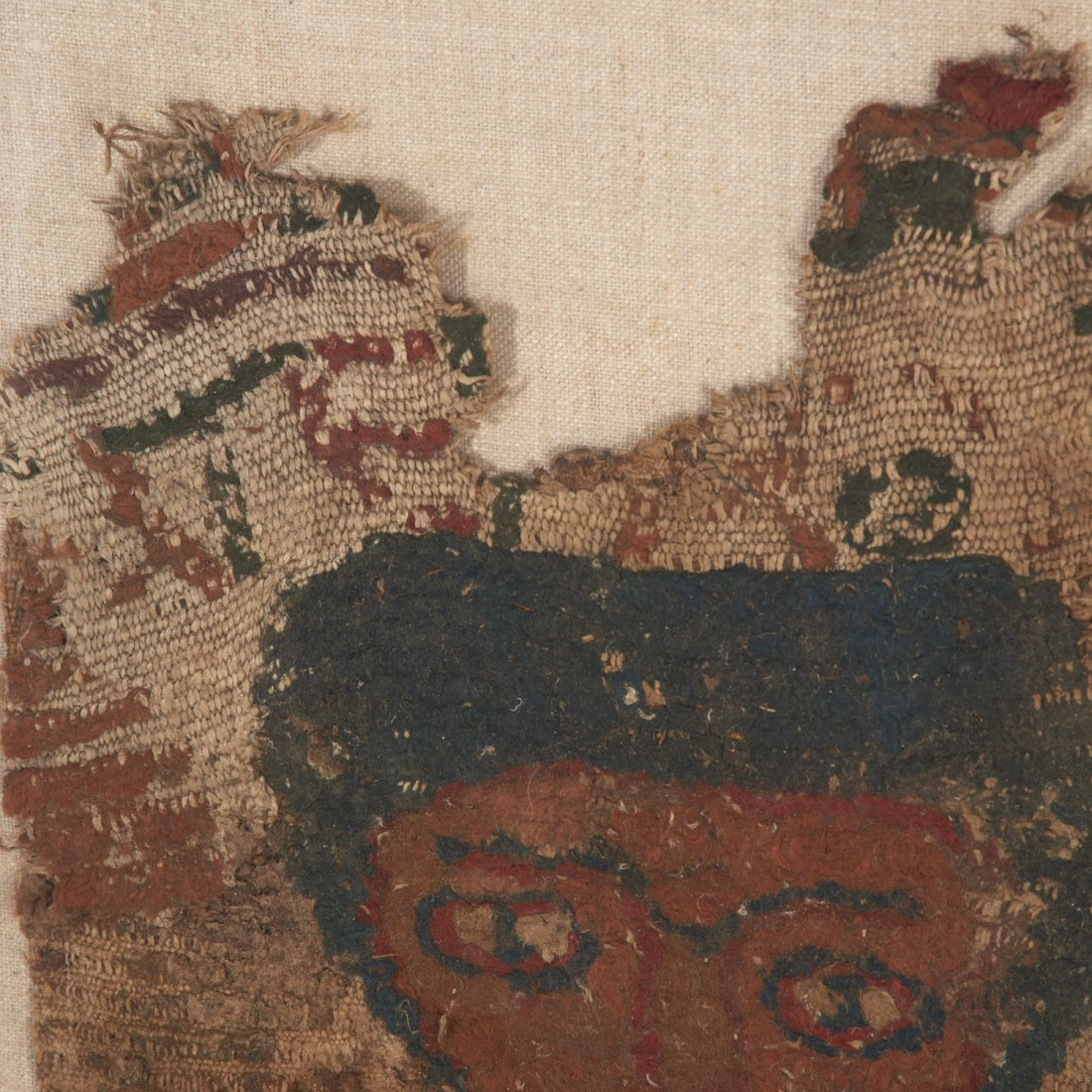 Egyptian Coptic tomb textile fragment - 3